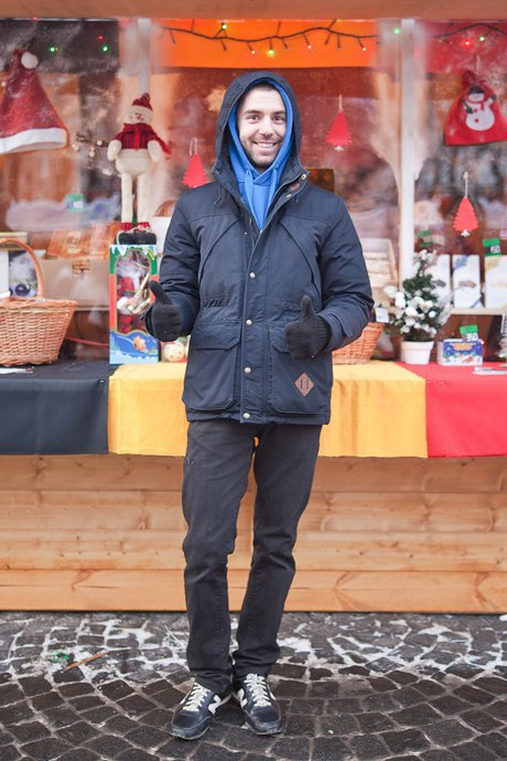 Люди в городе: Продавцы рождественской ярмарки на Островского. Изображение № 47.