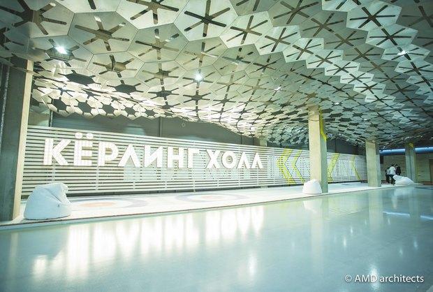 НаБухарестской открылся кёрлинг-центр с баром. Изображение № 2.