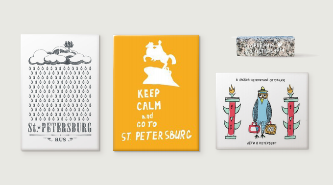 В Петербурге откроют сеть сувенирных лавок «Санта-Пе» . Изображение № 1.