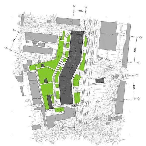 Изображение 2. В Москве построят многоэтажку с зелёными дворами на разных этажах.. Изображение № 7.