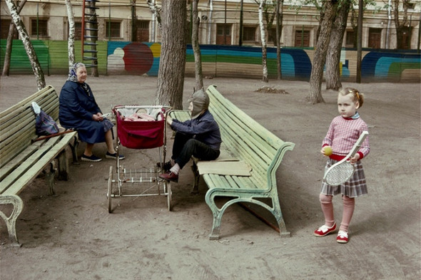 Гарри Груйер. СССР. Россия. Москва. 1989. © Harry Gruyaert/Magnum Photos. Изображение № 5.