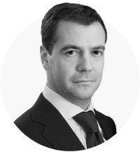 Медведев о сходстве украинской власти с инвентарём для уборки. Изображение № 1.