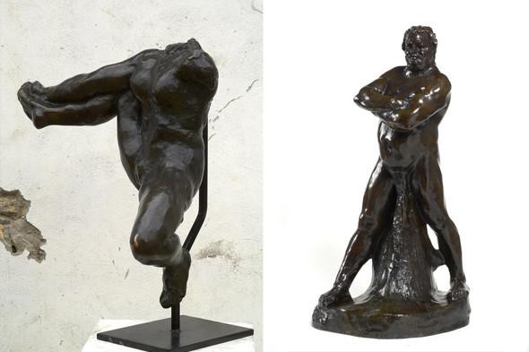 Iris, Headless Study («Ирис, этюд без головы»), 1891–1893, и Balzac, Nude Study C («Бальзак, этюд наготы C), 1892. Изображение № 4.