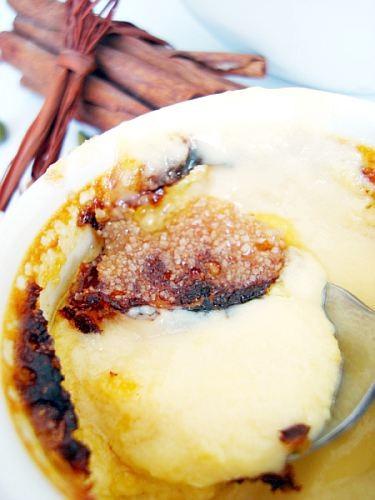 Крем-брюле с масалой. Изображение № 1.