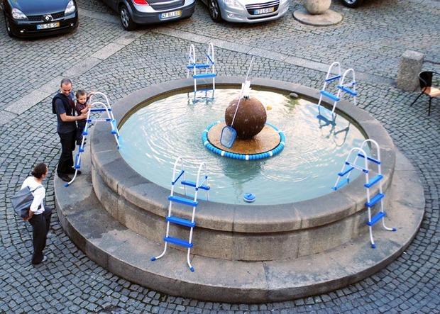 Идеи для города: Общественные бассейны в фонтанах. Изображение № 14.