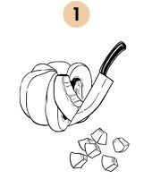 Рецепты шефов: Суп-пюре из тыквы с бальзамическим кремом. Изображение № 5.