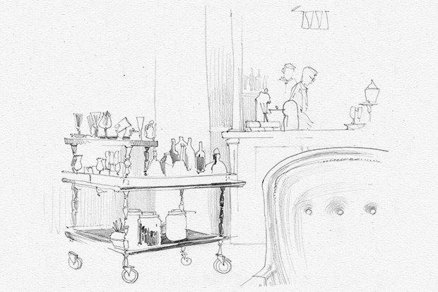 Бары в отелях «Метрополь» и «Балчуг-Кемпински». Изображение № 7.