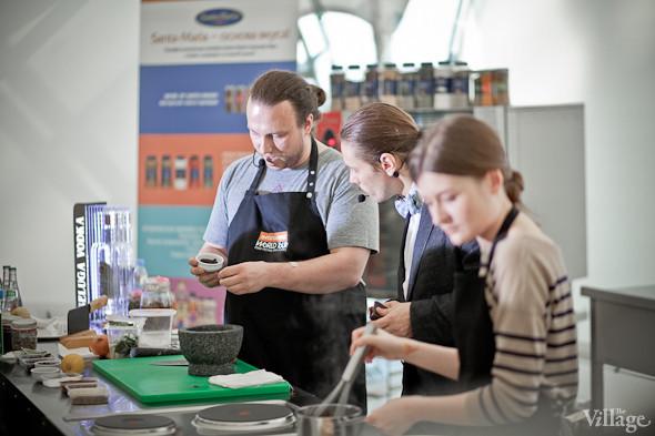 Omnivore Food Festival: Иван Шишкин готовит пеммикан и черемуховые полбяные пряники. Изображение № 6.