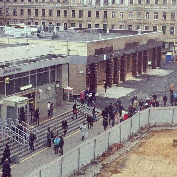 Завтра откроется наземный вестибюль «Спасской». Изображение № 1.