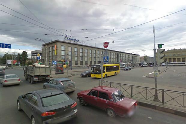 Территория вокруг Балтийского вокзала сейчас. Изображение № 7.