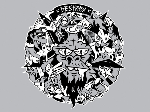Герб Москвы: Версия граффити-художника Nootk. Изображение № 11.