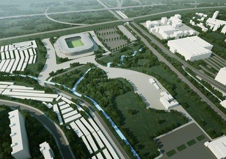 «Зенит» построит новый стадион к концу года. Изображение № 1.