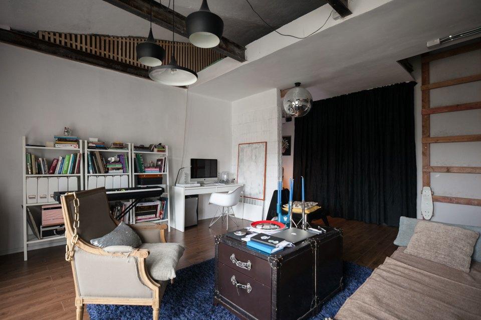 Двухъярусная квартира вГрафском переулке. Изображение № 2.