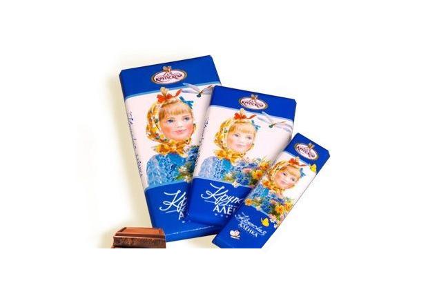 Шоколад «Крупская Алёнка» Кондитерской фабрики имени Крупской. Изображение № 1.