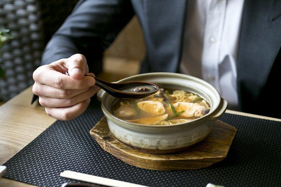 Мисо-суп с лососем — 600 рублей. Изображение № 15.
