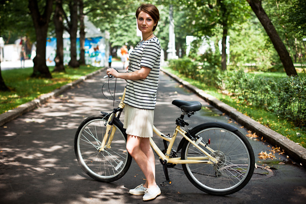 Люди в городе: Участницы парада «Леди на велосипеде». Изображение № 42.
