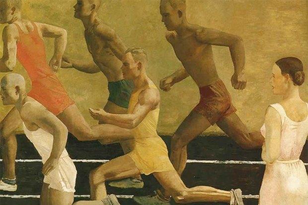 Александр Дейнека. Бег. 1932. Изображение № 6.