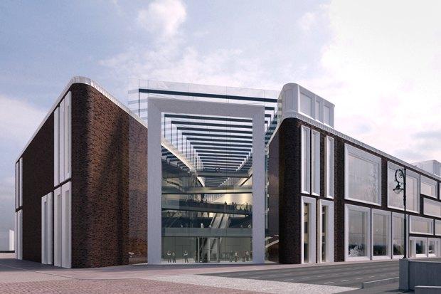 Определены проектировщики фасадов нового здания Третьяковки. Изображение № 1.