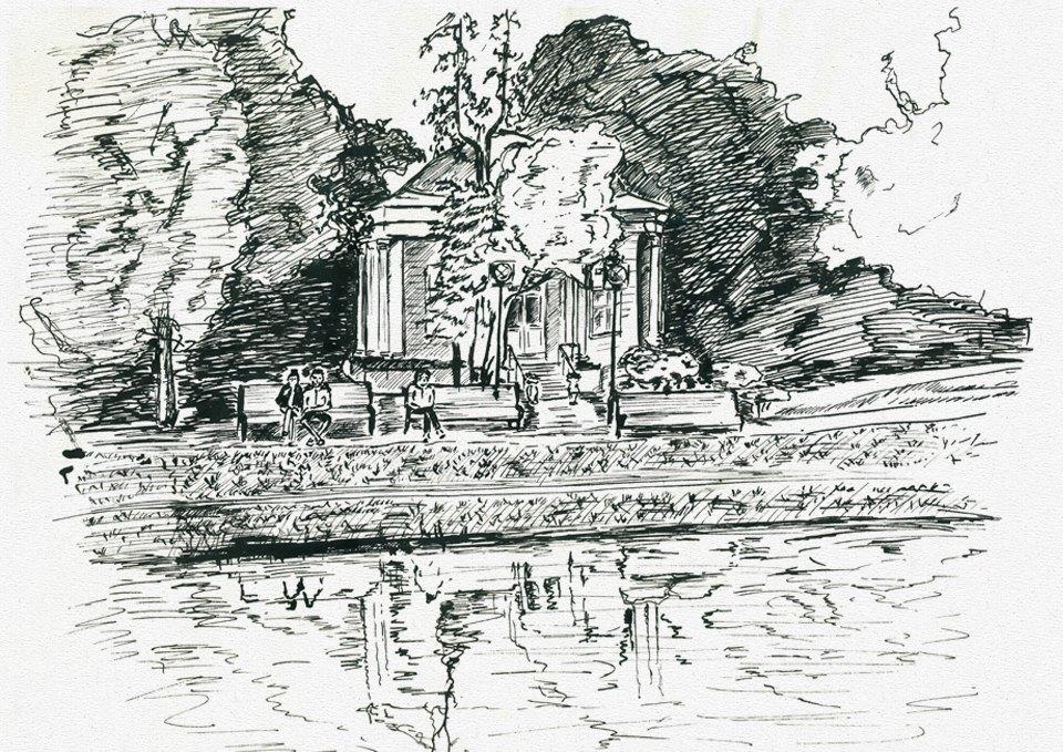 Клуб рисовальщиков: Екатерининский парк. Изображение № 3.