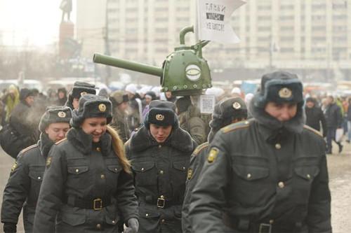 Онлайн-трансляция: Шествие и митинг «За честные выборы». Изображение № 50.