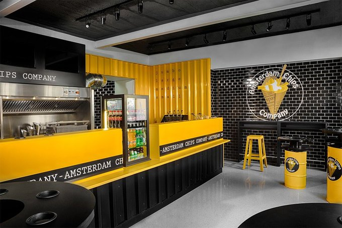 НаНевском проспекте заработало кафе AmsterdamChipsCompany . Изображение № 3.