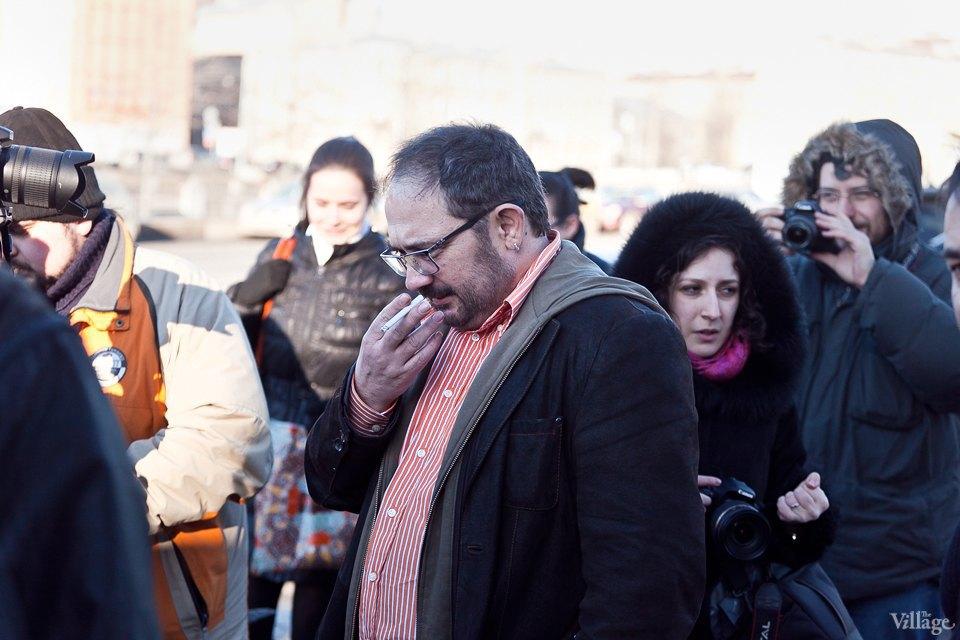 Люди в городе: Первые посетители выставки Icons в Петербурге. Изображение № 8.
