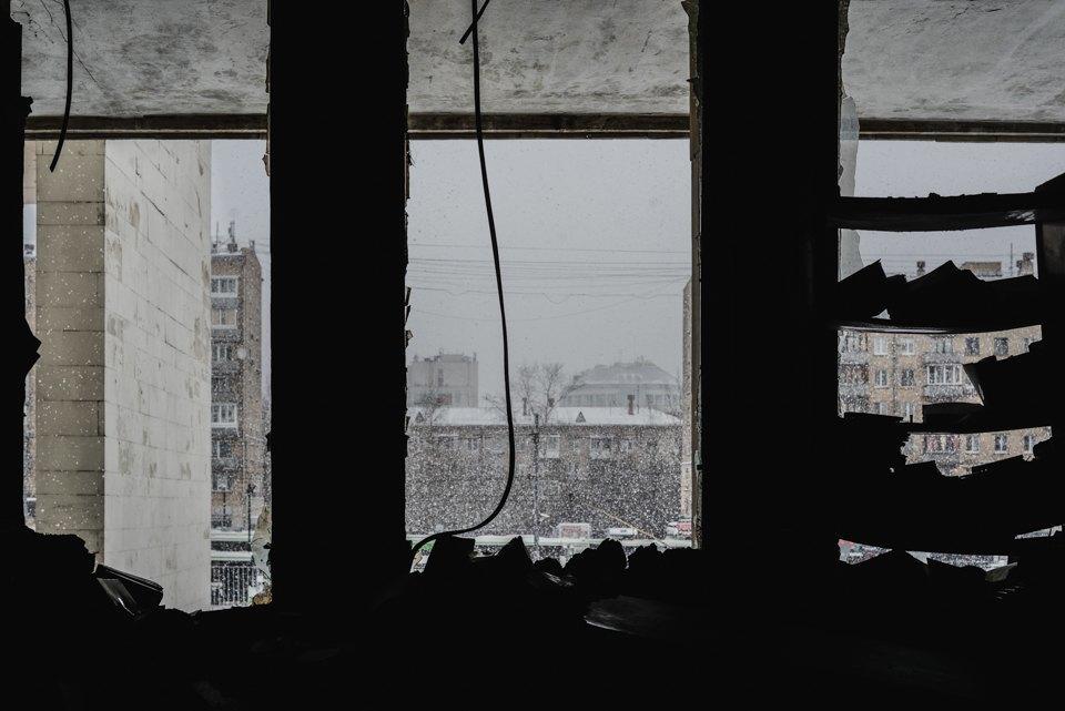Как выглядит библиотека ИНИОН РАН через 9дней после пожара. Изображение № 16.