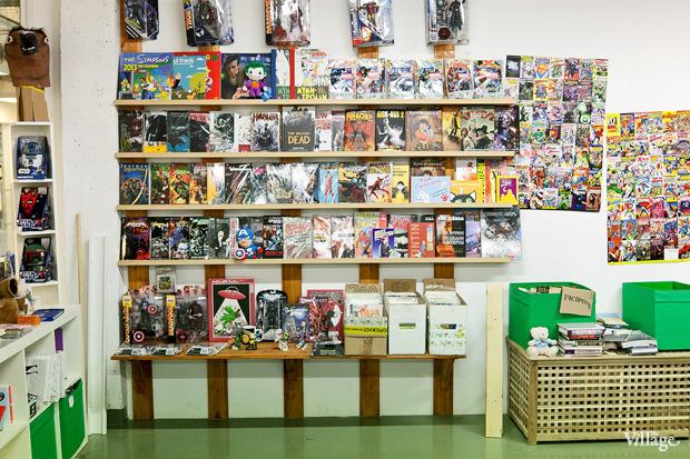 Раскадровка: 6 магазинов илавок с комиксами вПетербурге. Изображение № 1.