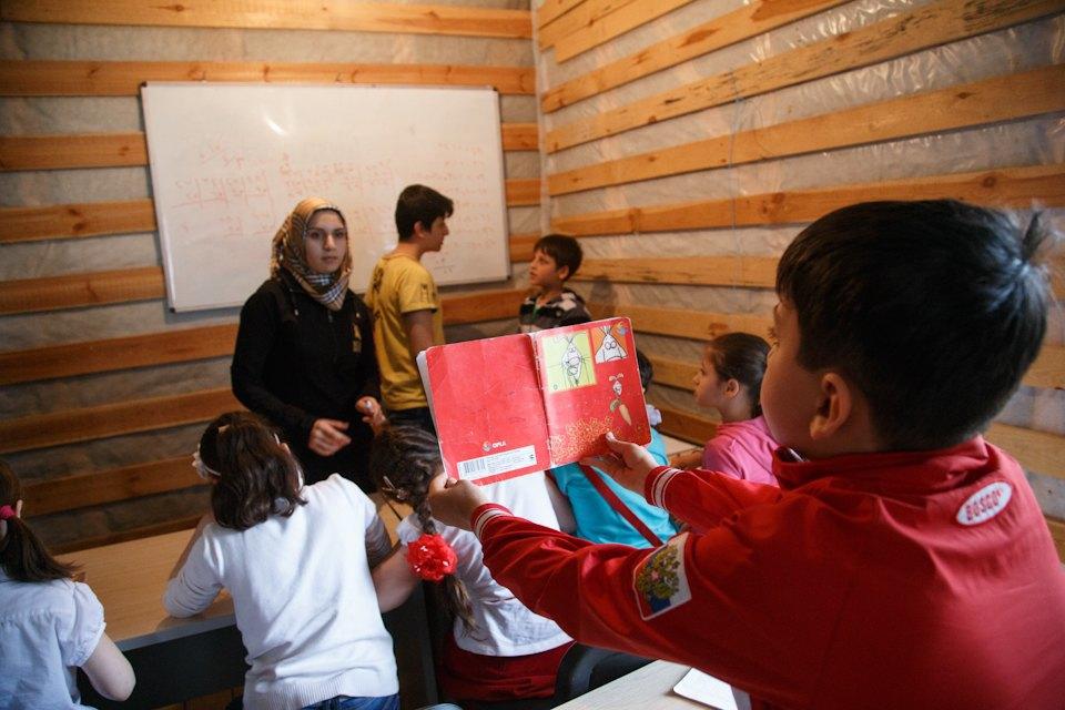 Дети, которых нет: Как проходят занятия в ногинской школе для сирийских беженцев. Изображение № 24.
