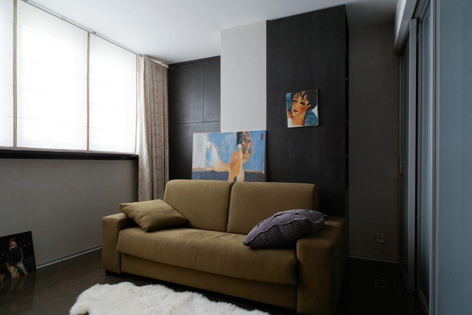 Трёхкомнатная квартира сэклектичным интерьером. Изображение № 18.