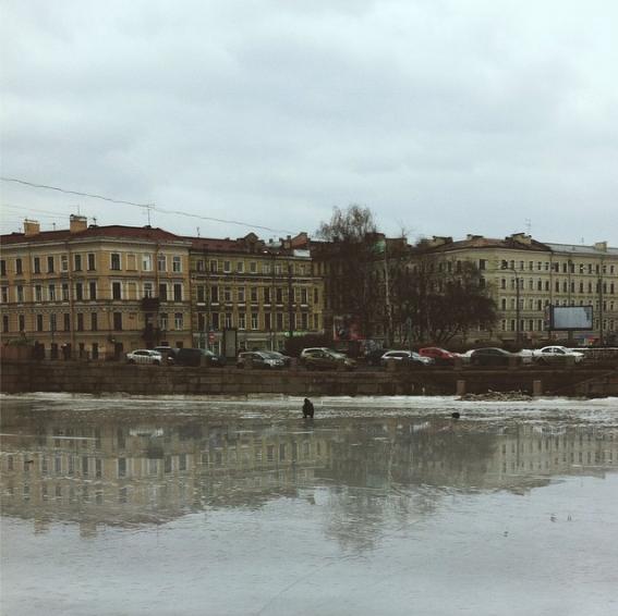 Суицидальная рыбалка вцентре Петербурга. Изображение № 1.