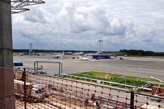 Фоторепортаж: Каким будет новый терминал Пулкова. Изображение № 22.