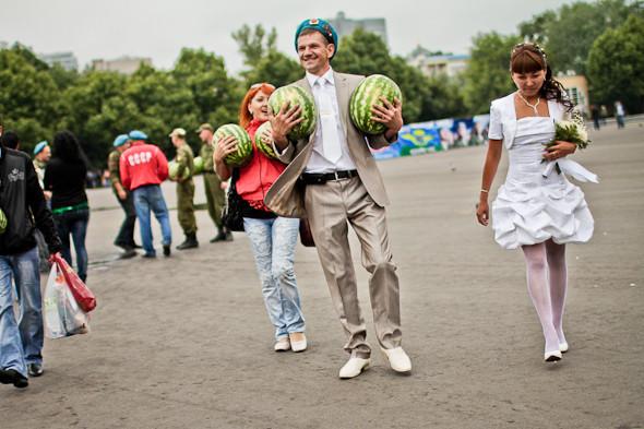 Фоторепортаж: День ВДВ в парке Горького. Изображение № 8.