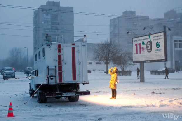Фоторепортаж: Прорыв труб на «Приморской». Изображение № 17.