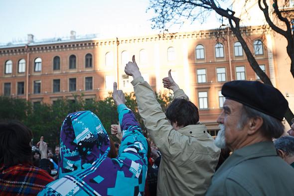 Люди в городе: Чего хотят митингующие на Исаакиевской . Изображение № 6.