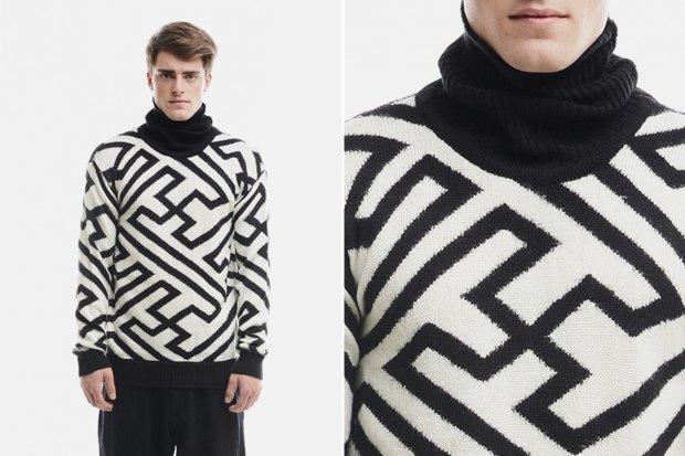 Мужские новогодние свитеры: 9вариантов от 1500 до16тысячрублей. Изображение № 9.