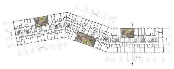 Изображение 6. В Москве построят многоэтажку с зелёными дворами на разных этажах.. Изображение № 6.
