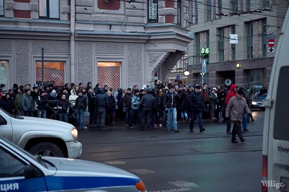 Фоторепортаж: Митинг против фальсификации выборов в Петербурге. Изображение № 12.