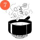 Рецепты шефов: Куриная грудка сперлотто и грибным соусом. Изображение № 9.