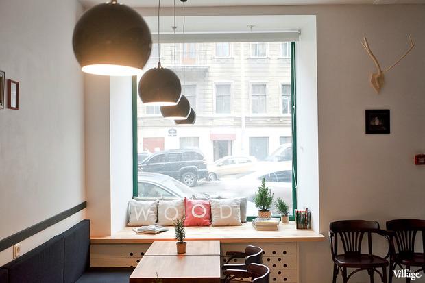 Новое место (Петербург): Кафе-бар Wood. Изображение № 8.
