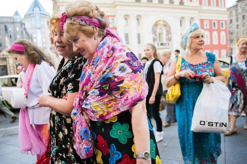 Шествие бабушек наТверской. Изображение № 12.