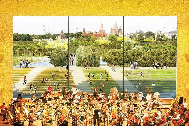 Парк в Зарядье: Проекты победителей и мнения экспертов. Изображение № 36.