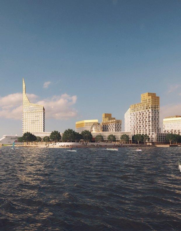Проект KCAP Architects & Planners и Orange Architects. Изображение № 2.