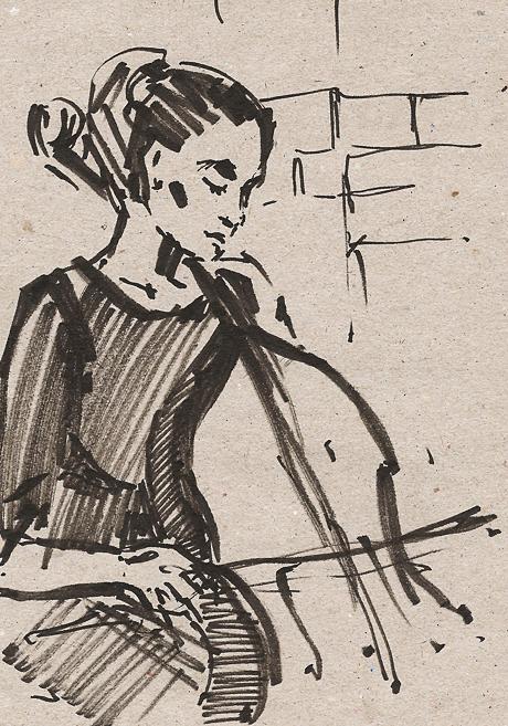 Клуб рисовальщиков: Музыканты. Изображение № 12.