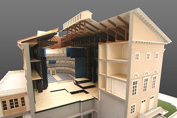 Каменноостровский театр откроется после пятилетний реконструкции. Изображение № 8.