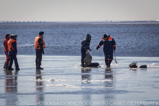 Акваторию Финского залива теперь патрулирует беспилотник МЧС. Изображение № 4.