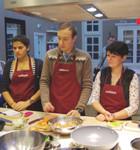 Время есть: Репортаж с мастер-класса Айзека Корреа на редакционной кухне журнала «ХлебСоль». Изображение № 2.