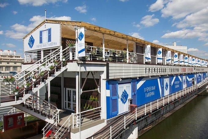 В Москве открылся ресторан греческой кухни «Ехал грека через реку». Изображение № 1.