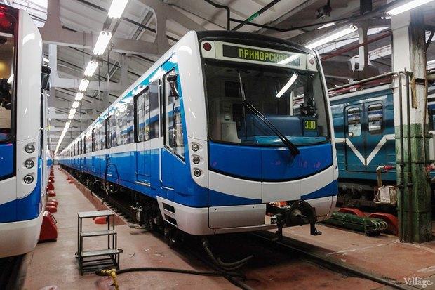 К 2018-му метро купит ещё 11 бесшумных поездов «НеВа» . Изображение № 1.