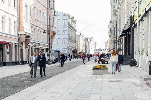 Фото дня: Как выглядит пешеходная Большая Дмитровка. Изображение № 12.
